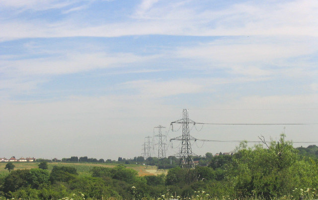 Electricity Pylons, Pages Farm, Harold Wood, Essex