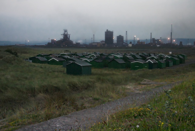 Fishermen's Huts on South Gare