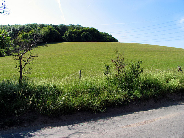 Farmland and Harley Hill Wood
