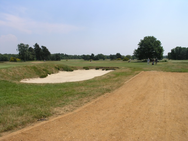 Bunker on Golfcourse