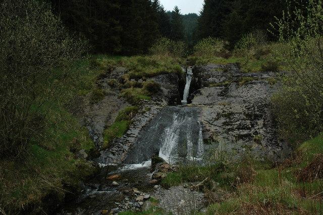 Blaen Hafren Falls