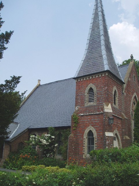 St Dunstan's Church at Ashurst Wood