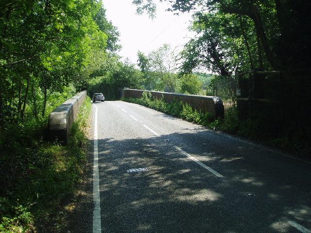 Bridge over the railway line
