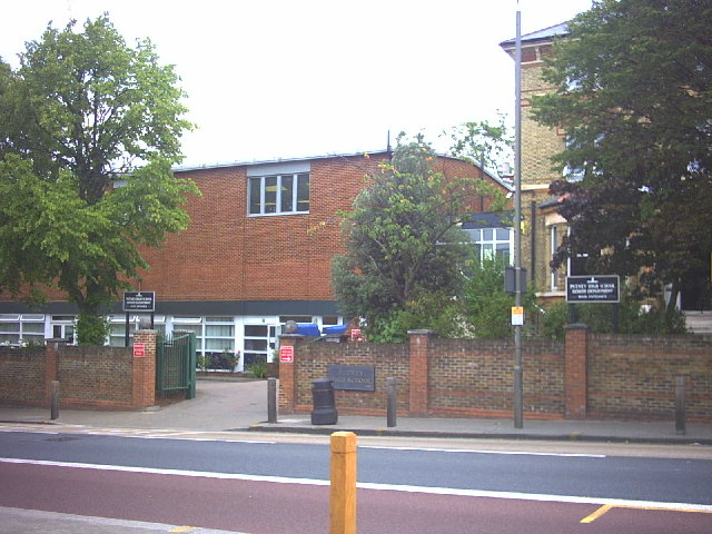 Putney High School, Putney Hill.