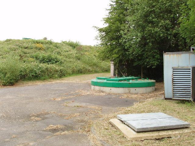 Stoke Wood reservoir, near Farnham Common