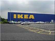 SJ5891 : IKEA, Gemini Retail Park by Al McDougall