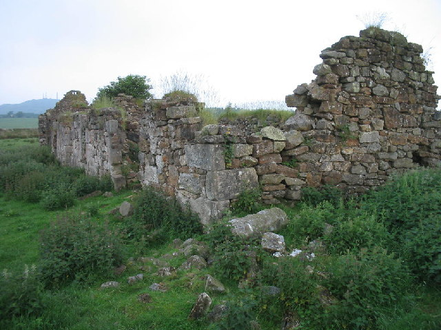 Redcraigs ruined cottage