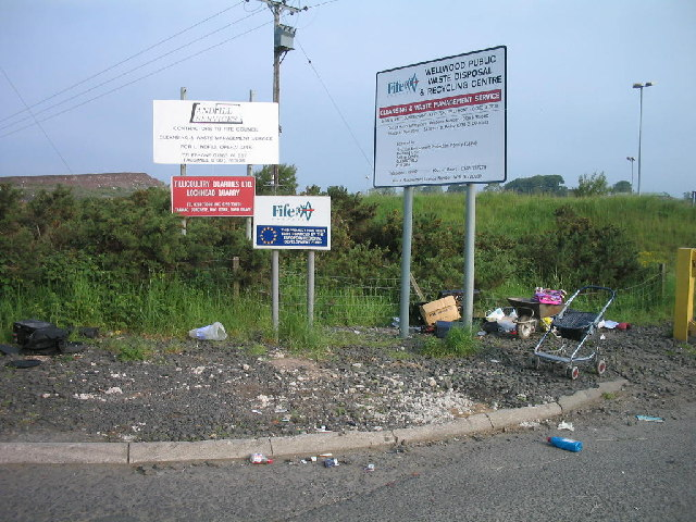 Lochead waste disposal and recycling centre