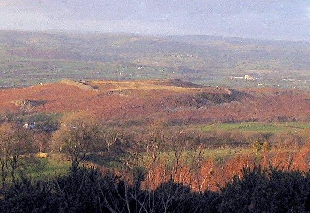 The Large Fort on Garn Goch