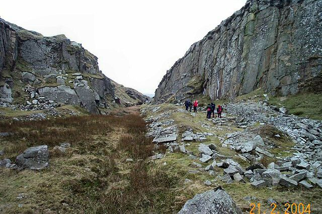 Swelltor Quarry - Dartmoor