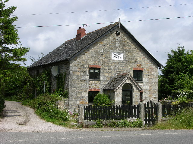 Wesleyan Methodist Chapel, Relubbus, Cornwall
