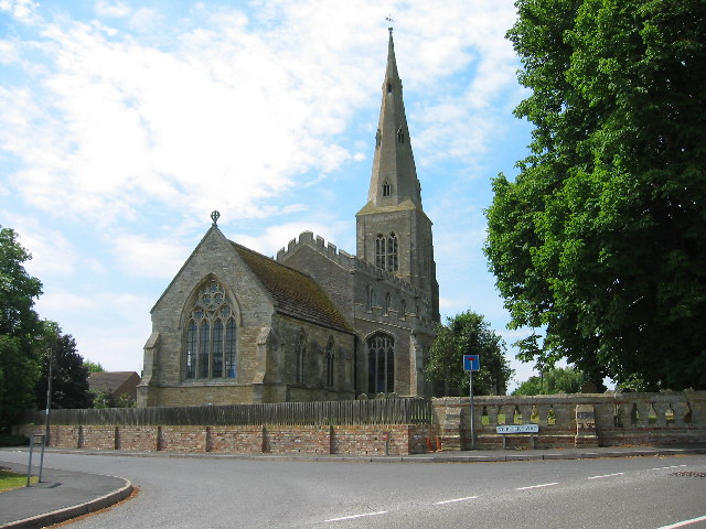 All Saints Church, Ellington