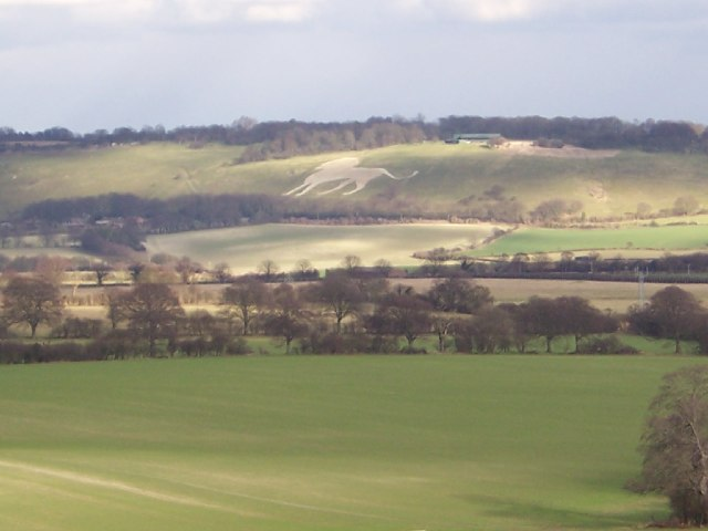 View from Ivinghoe Beacon 757' above sea level