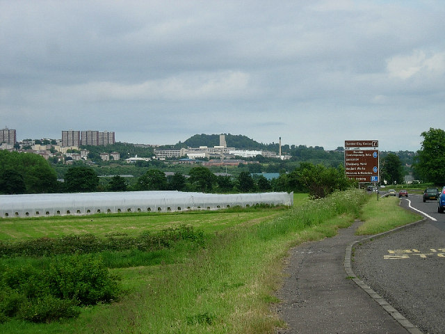 Western outskirts of Dundee