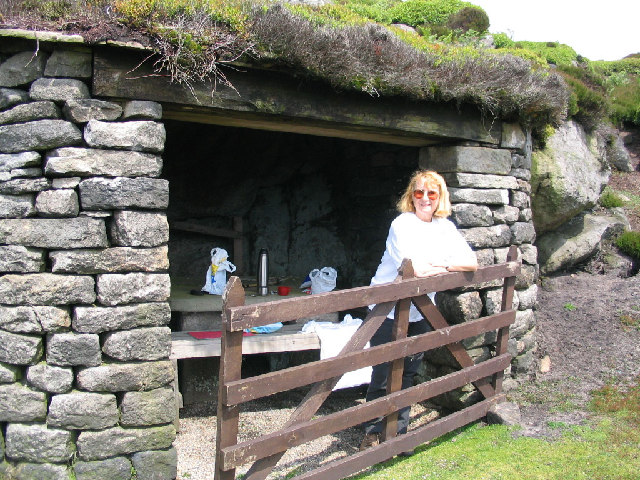 Hazelwood Moor shooting hut