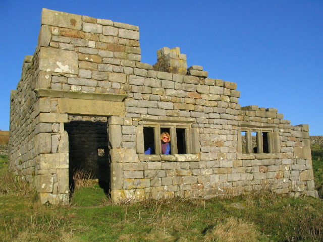 Ruin at Grimwith Reservoir