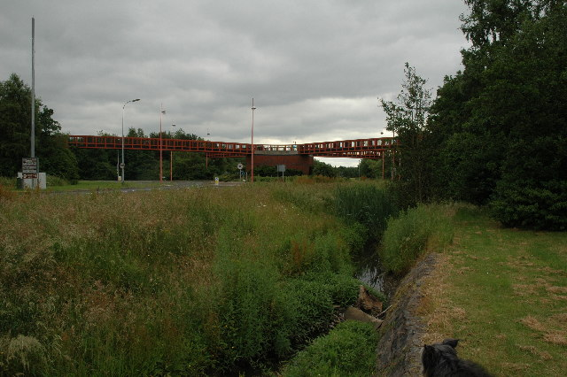 Foot Bridge over A574, Westbrook, Warrington