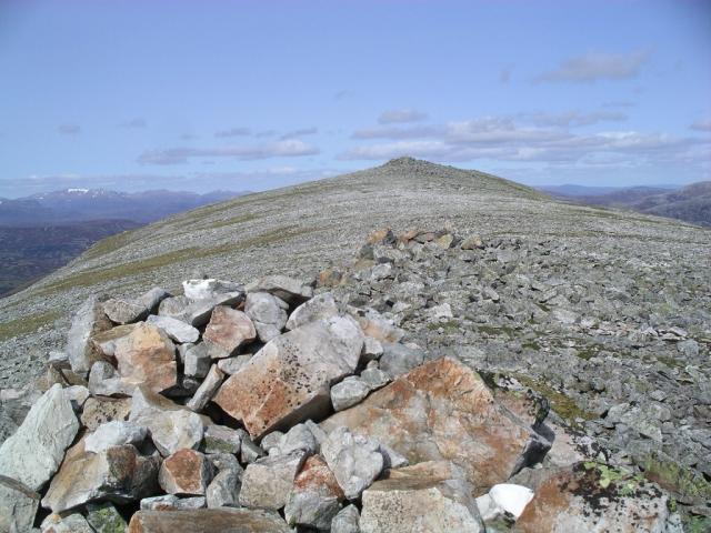 Southern top of Carn nan Gabhar