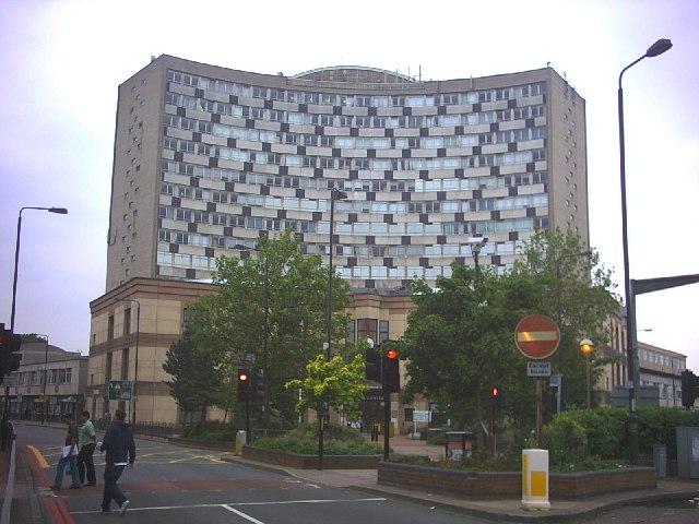 Morden Civic Centre, London Road.