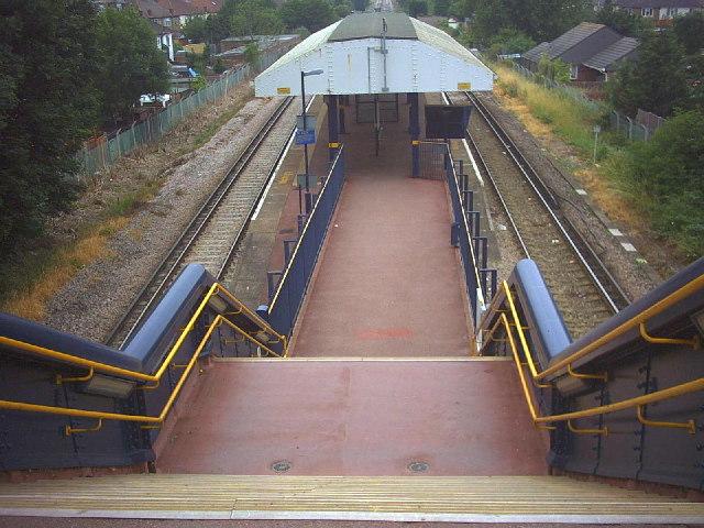 South Merton station, Martin Way, Morden (B286)