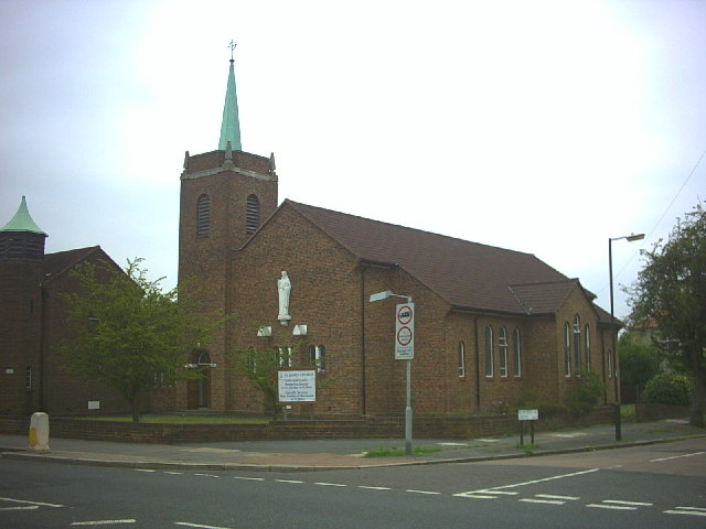 St James church, Martin Way.