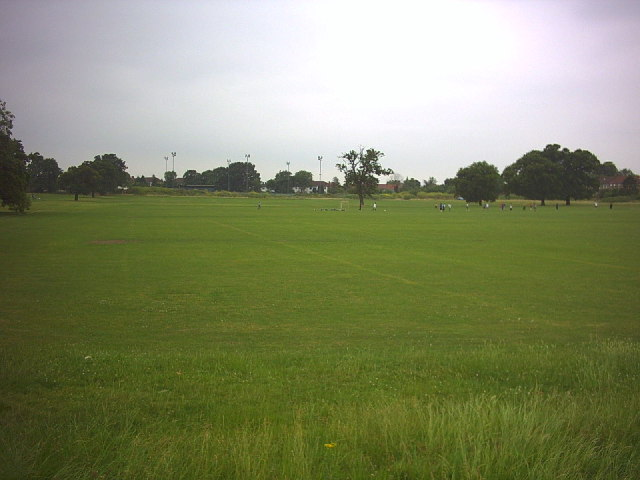Playing Fields off Bushy Road and Grand Drive, Raynes Park.