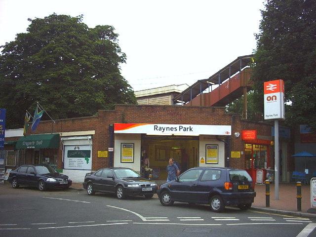 Raynes Park station.