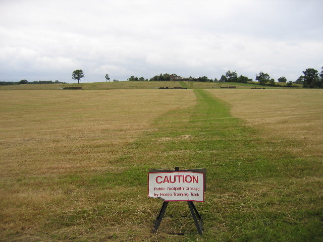Alne Farm training track
