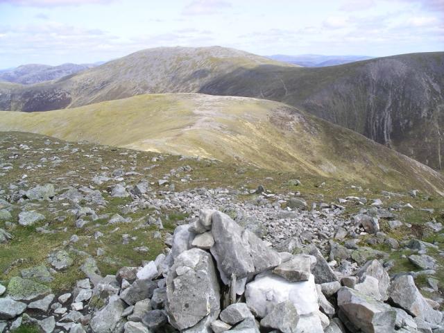 Braigh Coire Chruinn- bhalgain : Munro No 66