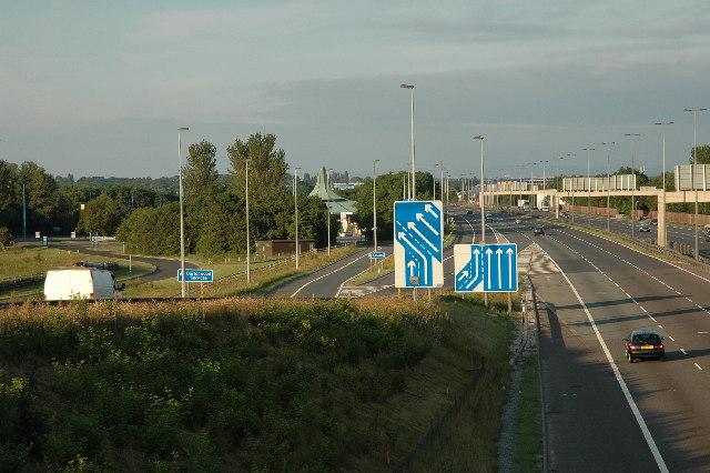 M62 Junction 8