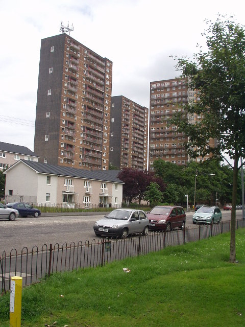 High flats, Ibrox