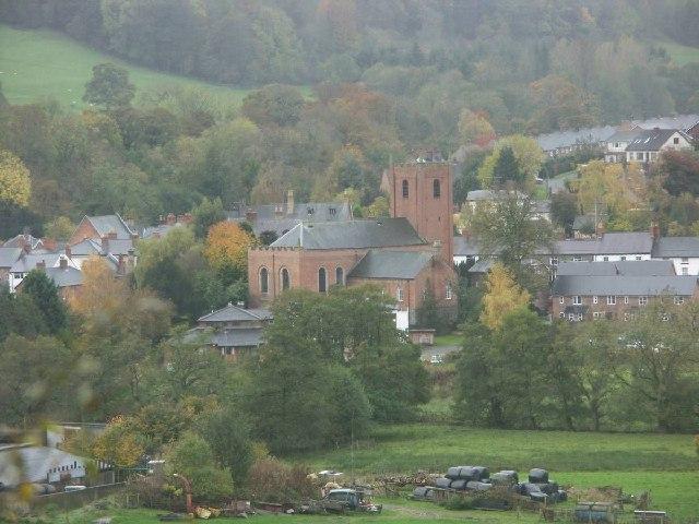 St Mylin's Church, Llanfyllin