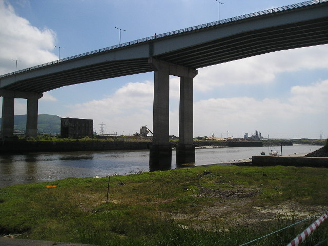 M4 over River Neath