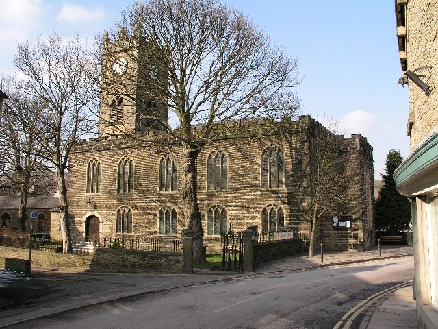 St Matthews Church, Hayfield