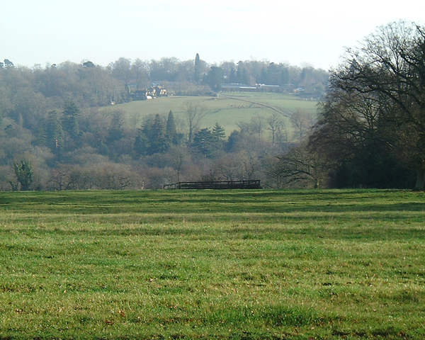 View to the East from Paddockhurst Lane
