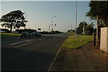 SJ5189 : Crossroads along A57 near Rainhill by andy