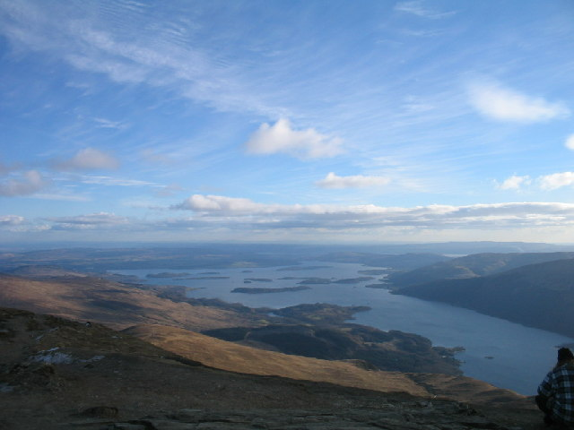 The south end of Loch Lomond