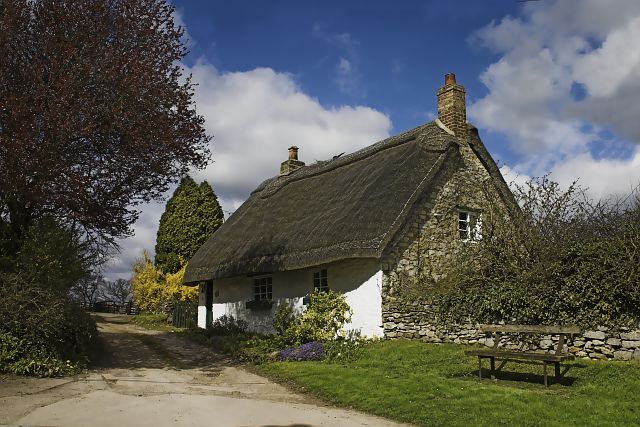 Thatched cottage at Beadlam