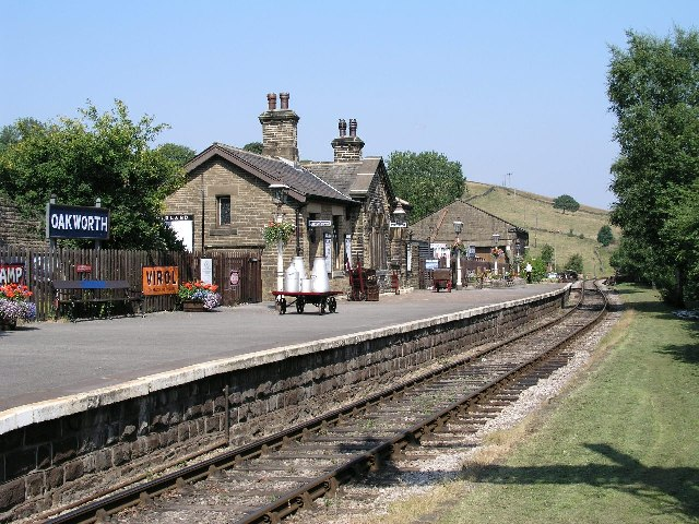 Oakworth Station, Keighley & Worth Valley Railway.