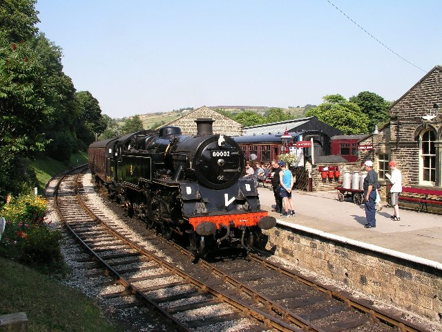 Oxenhope Station, Keighley & Worth Valley Railway.