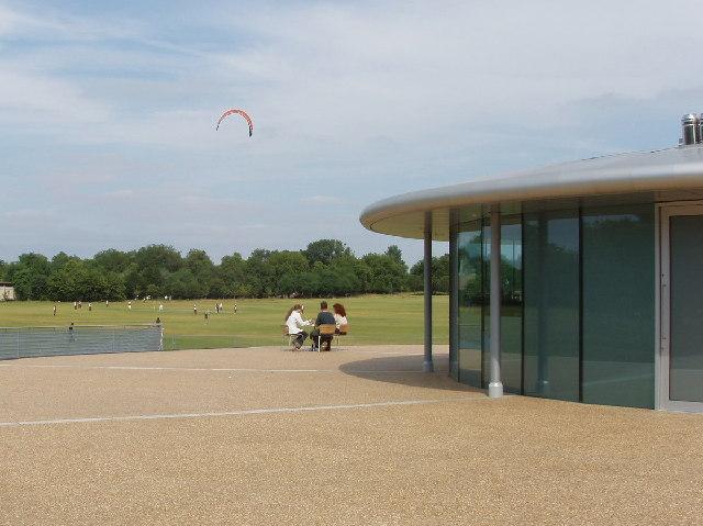 The Hub, sports pavilion in Regent's Park