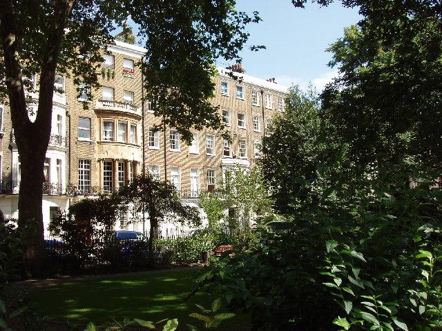 Montagu Square, near Hyde Park