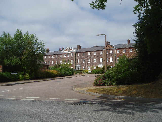 The old  hospital at CUCKFIELD