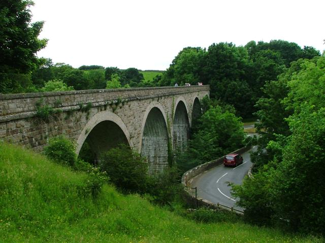 Laithkirk Viaduct over the River Lune