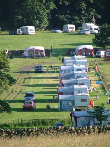 Semi Permanent Caravanning Site.