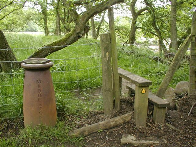 Parish Boundary Marker and Stile
