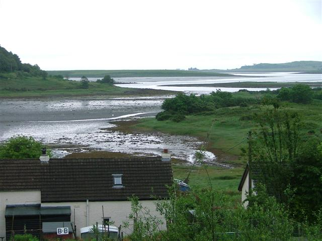 Loch Don at Low Tide