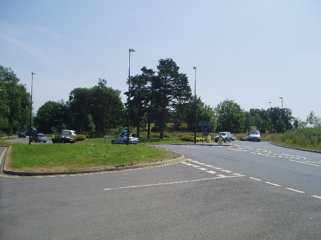 Butler's Green roundabout