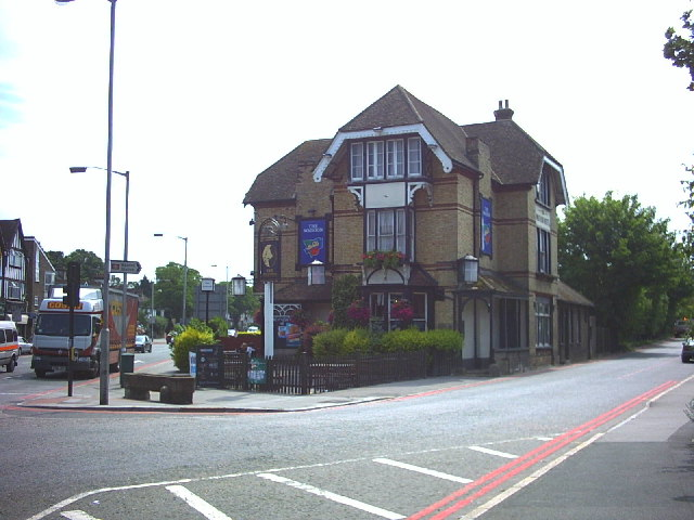 The Waddon Hotel.