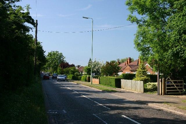 Sicklesmere Road (A134), Bury St Edmunds